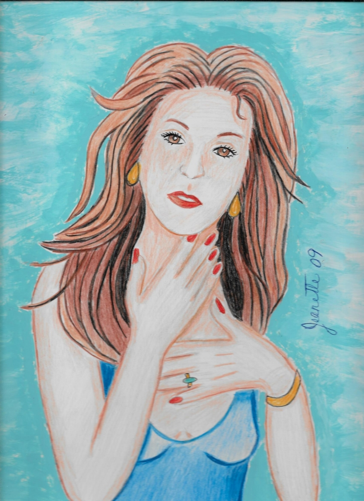 Céline Dion por Jeanette